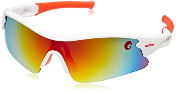 cricket sunglasses online shopping  Buy Omtex Galaxy Red Cricket Sports Sunglasses - White/Red - With ...