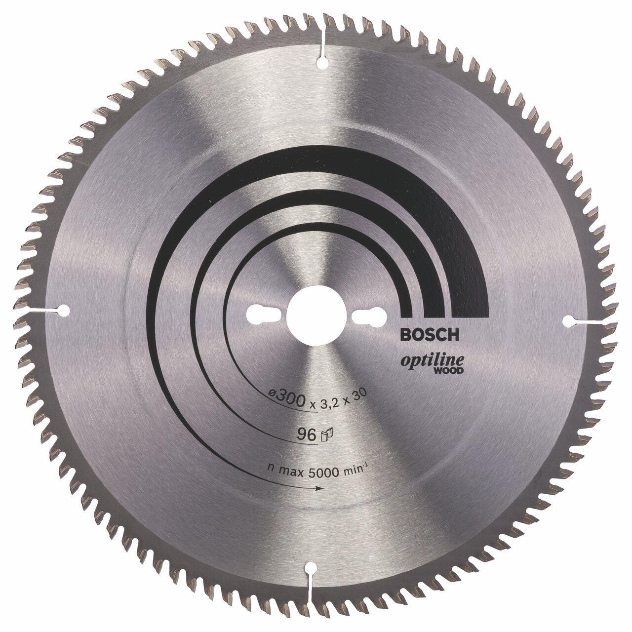 Bosch Zubehör 2608640661 Kreissägeblatt Optiline Wood 300 x 30 x 3,2 mm, 96  BaumarktKundenbewertung und weitere Informationen