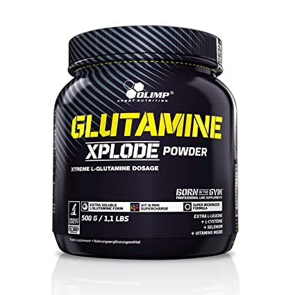 Olimp L-Glutamine Xplode, 500g Dose Spezialangebot (Zitrone)