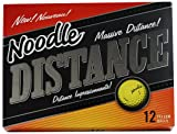 Noodle Distance Golf Ball (Pack of 12, Yellow)