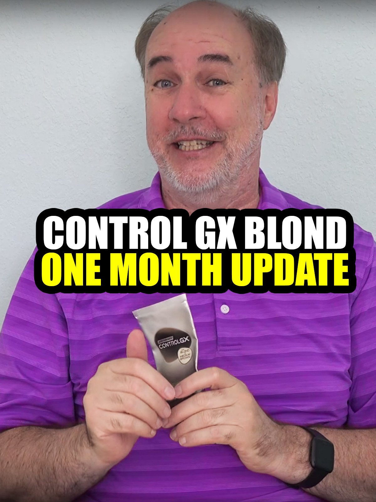 Review: Control GX Blond One Month Update on Amazon Prime Video UK