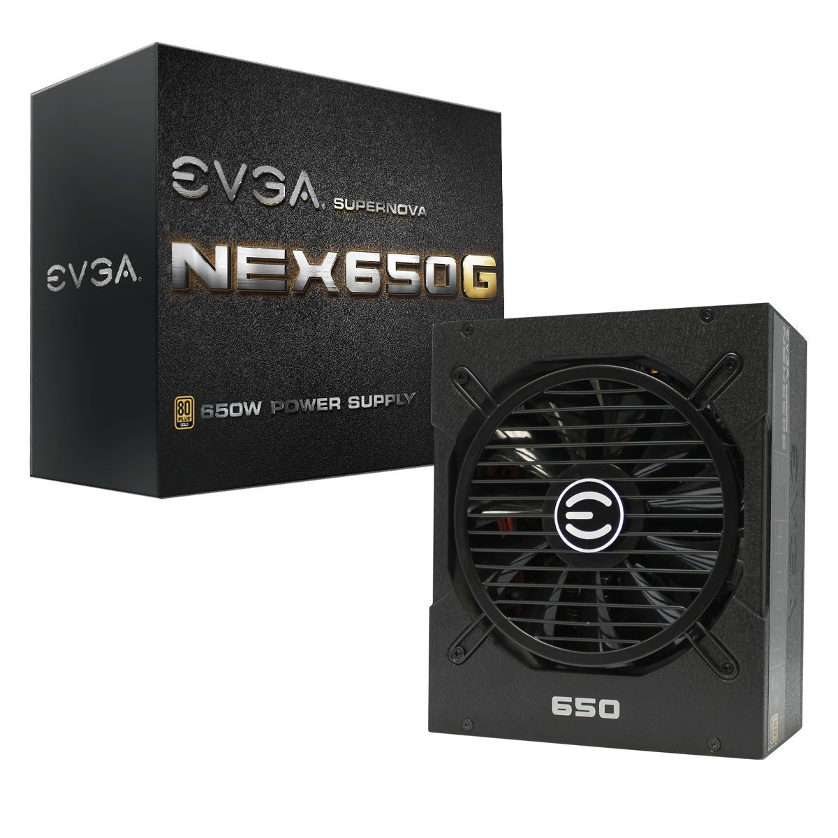 EVGA SuperNOVA 650G1 650W ATX12V Power Supply (80 PLUS Gold certified)