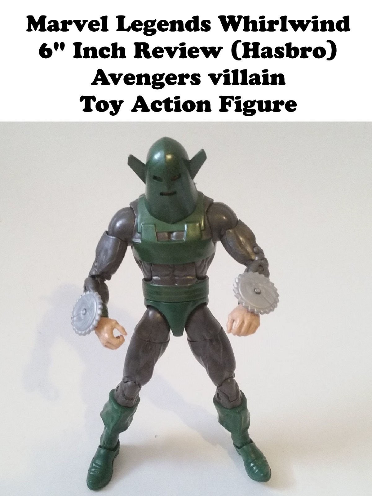 "Review: Marvel Legends Whirlwind 6"" Inch Review (Hasbro) Avengers villain Toy Action Figure"