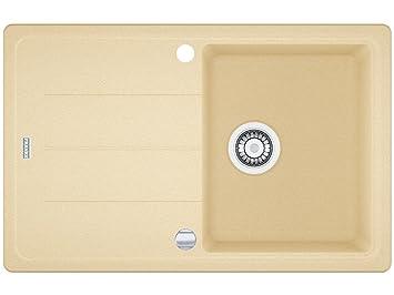 franke basis bfg 611 sahara granit sp le beige k chensp le sp lbecken exzenter dee924. Black Bedroom Furniture Sets. Home Design Ideas