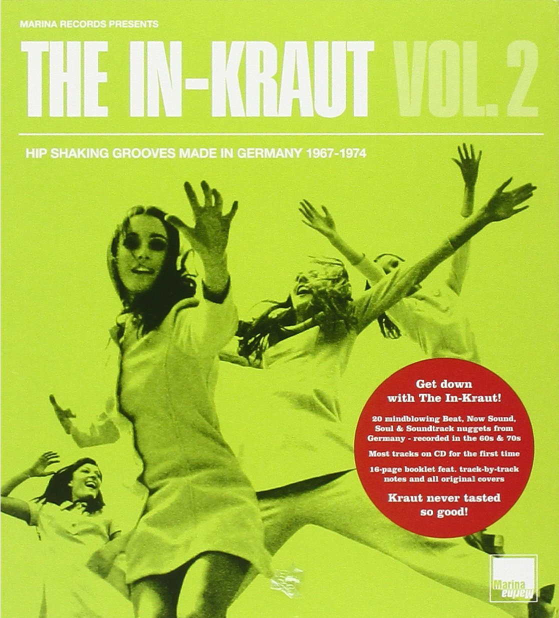 The In-Kraut - Vol. II_ Hip Shaking Grooves Made In Germany 1967-1974