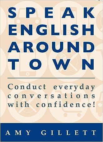 Speak English Around Town written by Amy Gillett