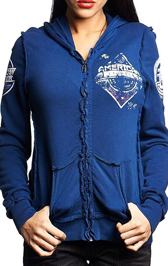 American Fighter Women's Colby Long Sleeve Full Zip Hoodie