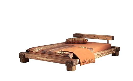 modular bett cali 140 x 200 cm akazie massiv. Black Bedroom Furniture Sets. Home Design Ideas
