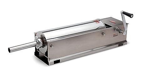 Hakka Brothers Sausage Machine 2 Speed Stainless Steel Horzontal Sausage Stuffer Via Amazon