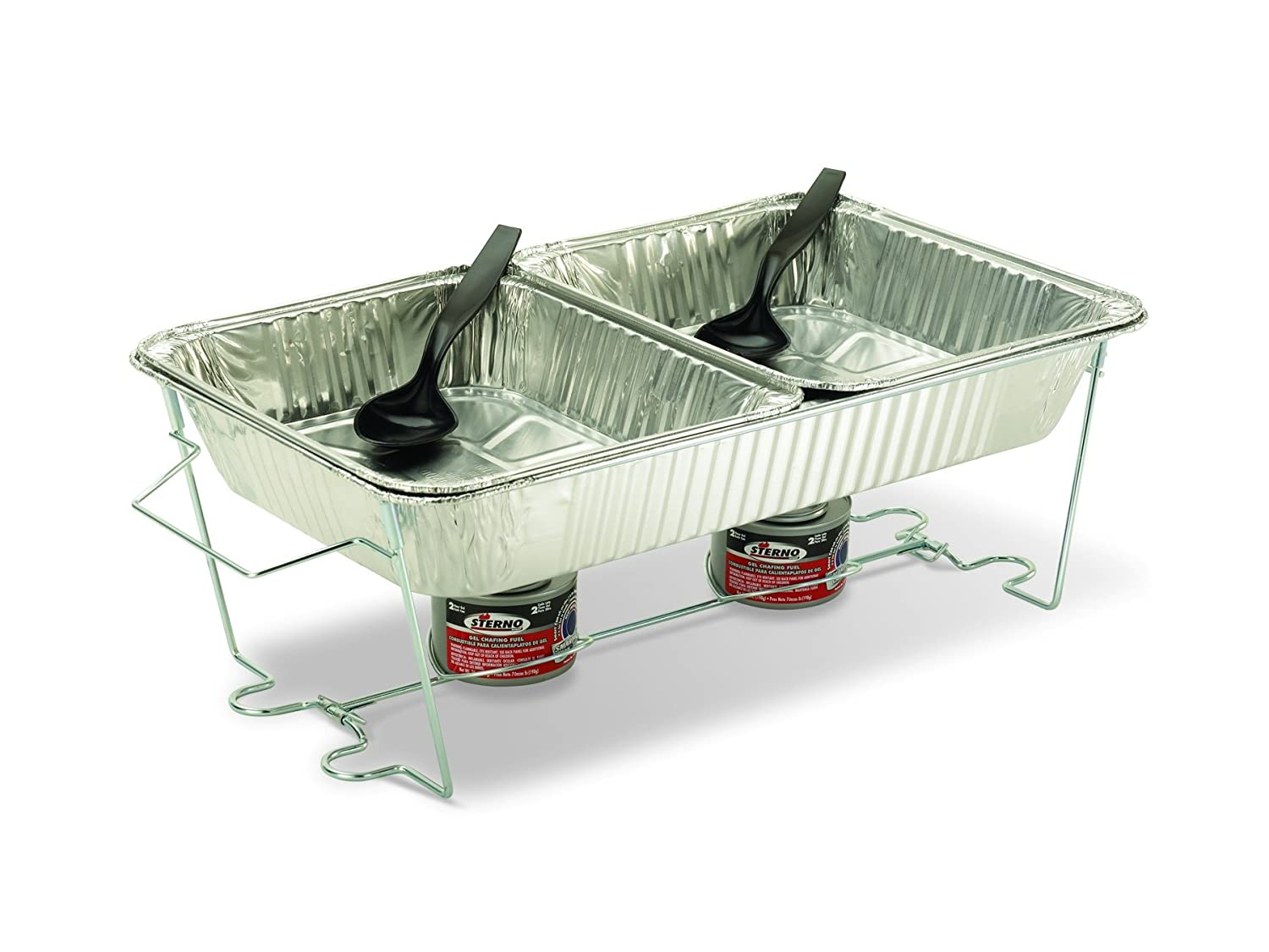 Sterno st07000 pop up chafer new free shipping ebay for Aluminum cuisine