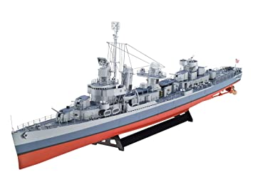 Revell - 5091 - Maquette de Bateau - Fletcher Class Destroyer Z-1