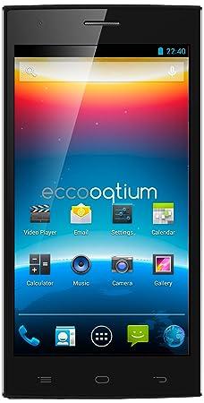 i-Joy Eccooqtium 5.5 Plus Smartphone débloqué (5.5 pouces - 16 Go) Noir (import Espagne)
