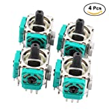 4Pcs 3D Analog Sensor Switch Joystick Wireless Controller Rocker Replacement for Xbox One