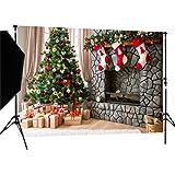 DULUDA 7X5FT Christmas Theme Pictorial cloth Customized photography Backdrop Background studio prop WXL41 (Color: WXL41, Tamaño: 7X5FT)