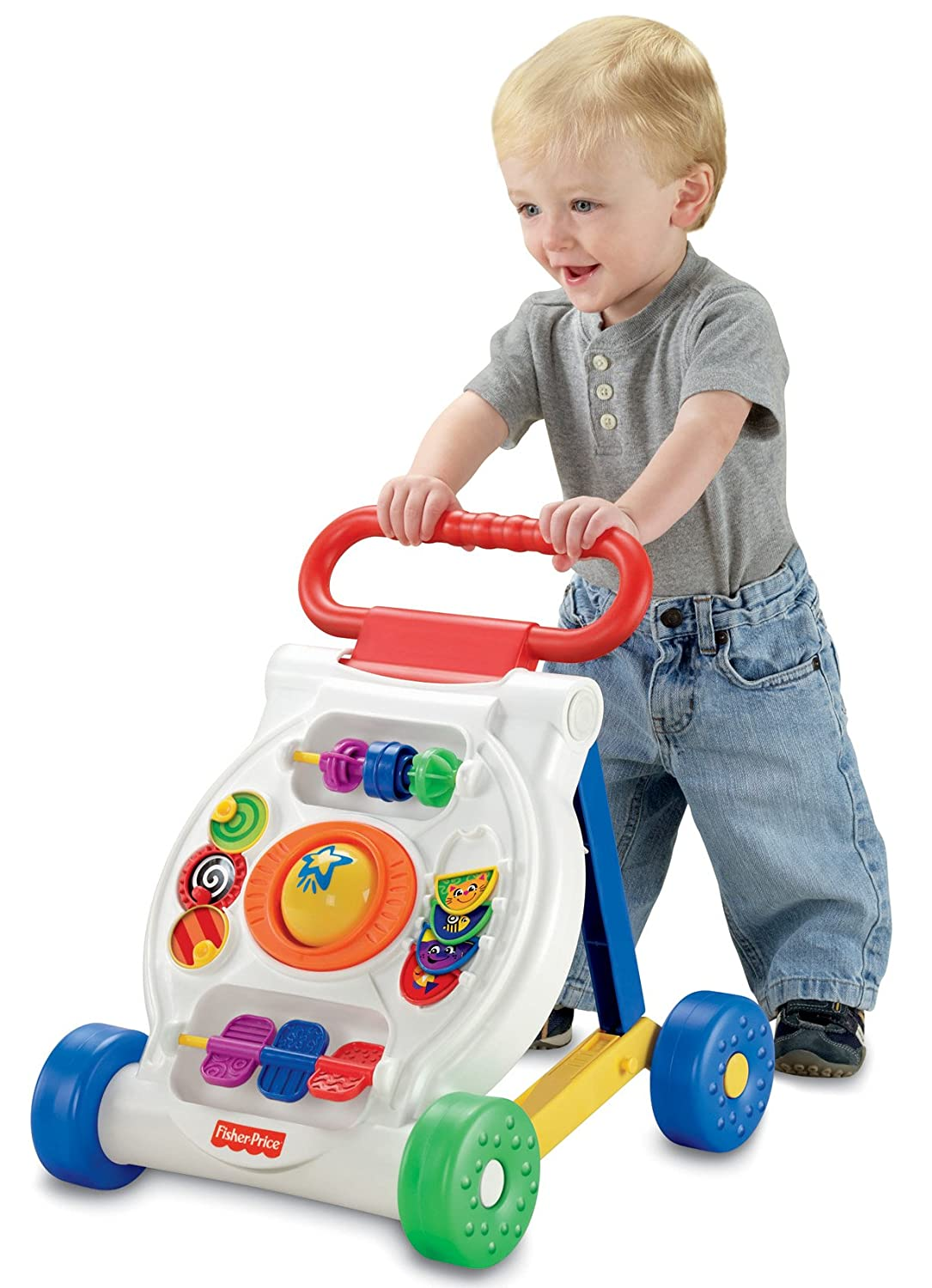 Toys For 9 : Car sit to stand teaching learning toy baby toddler infant