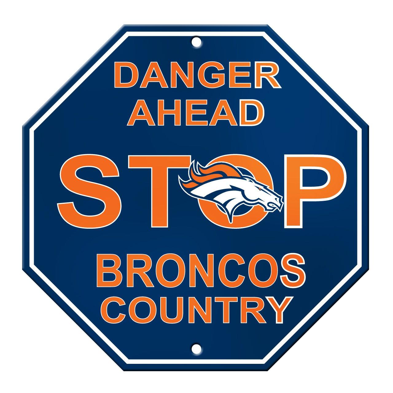 Stop Signs in Spain Nfl Denver Broncos Stop Sign