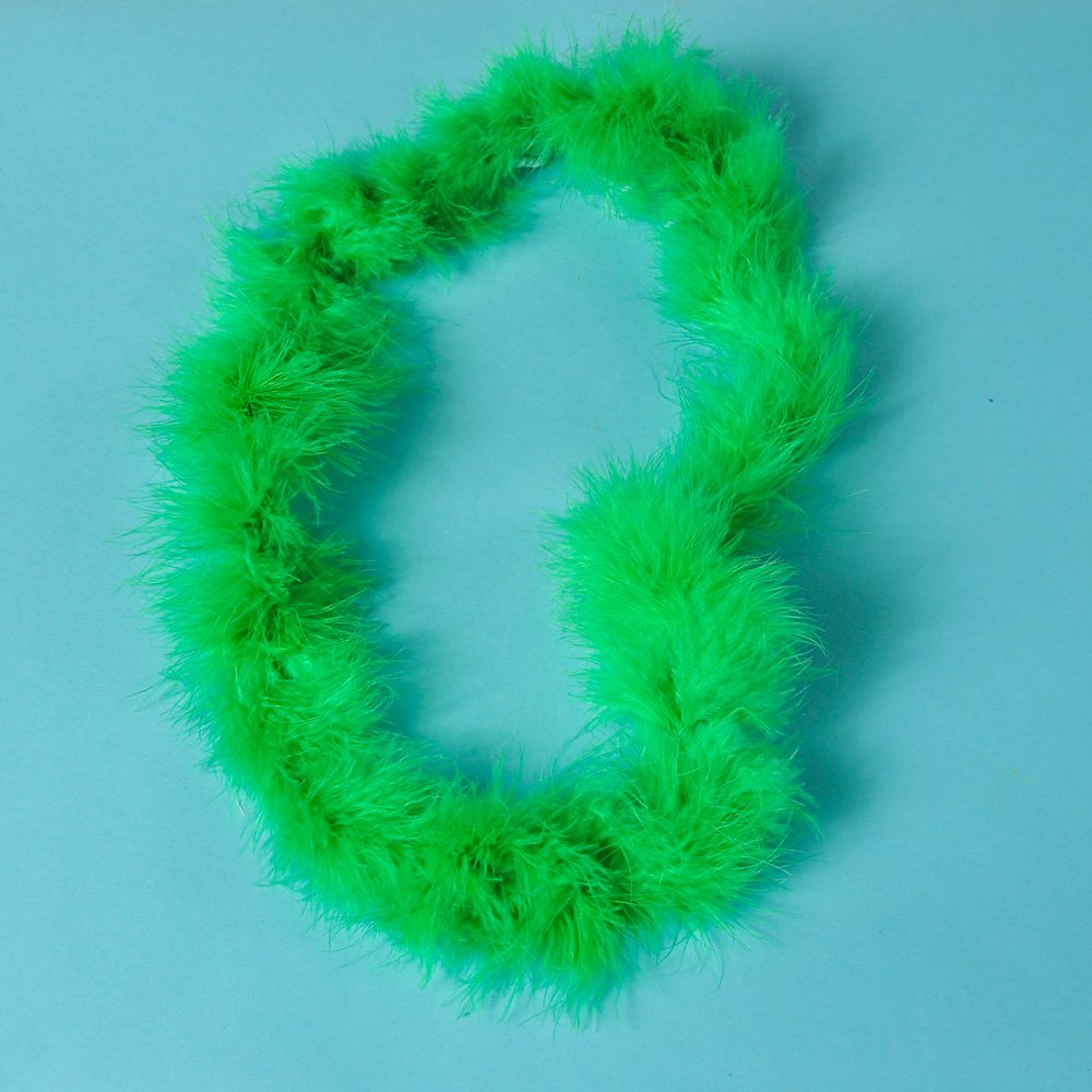 Green Fluffy Boa Leis (1 dz) rhode island drug court
