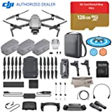 2018 DJI Mavic 2 Pro Drone Quadcopter Plus Fly More Combo Kit, Hasselblad Camera HDR Video, with 3 Batteries, 128GB Micro SD, Landing Gear & Pad, Prop Holder, Stick Protector, Extra Carrying Case (Tamaño: With Fashion Soft Case)
