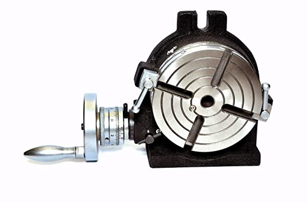 Horizontal Vertical HV6 Rotary Table 6 / 150MM - 4 Slot For Milling Machine