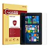 Samsung Galaxy TabPro S/TabPro S Gold Edition Screen Protector, OMOTON Tempered Glass with [2.5D Round Edge] [9H Hardness] [Crystal Clear] for Samsung Galaxy TabPro S/ TabPro S Gold Edition 12 inch