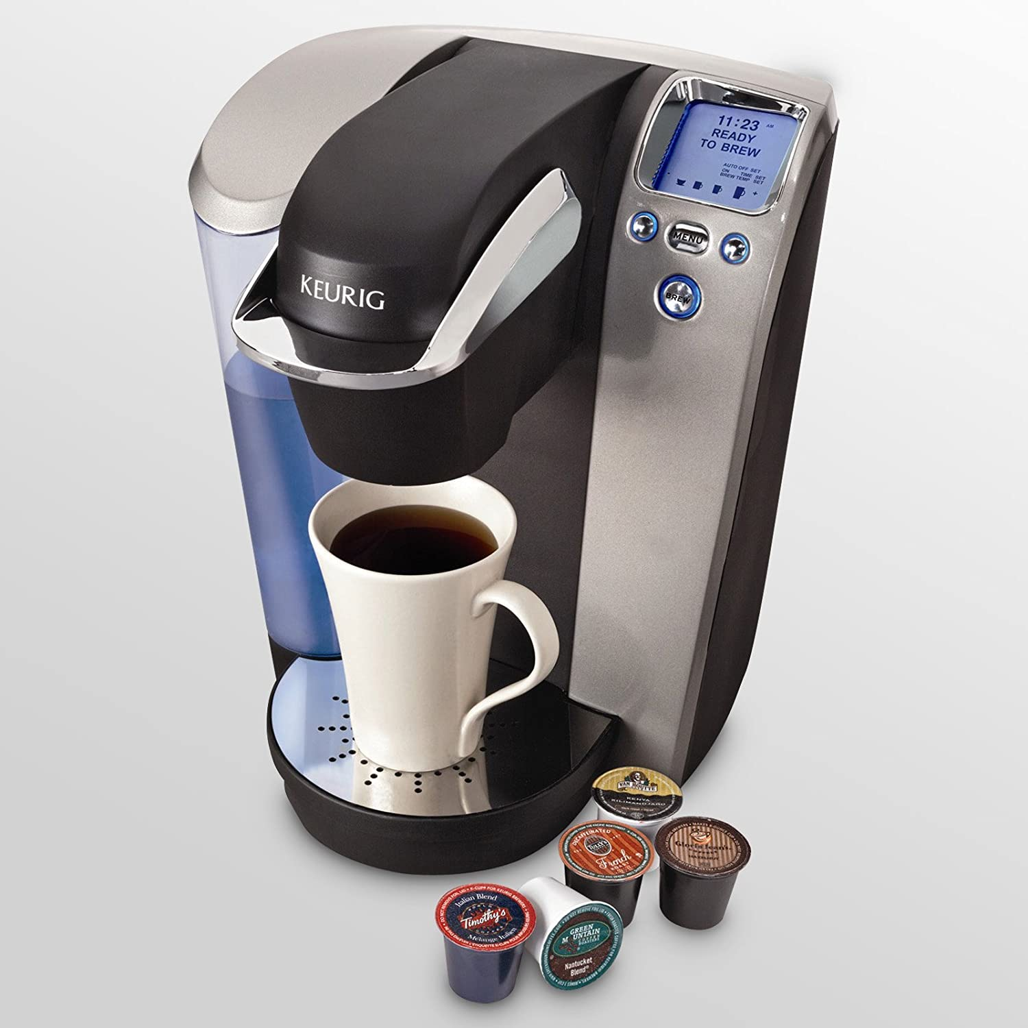 Keurig Coffee Maker Single Cup : Keurig vs Tassimo Single Cup Coffee Maker Comparison