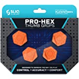 Sliq Gaming PS4 Pro-Hex Thumb Stick Grips - PlayStation 4 - Orange (Color: Orange)