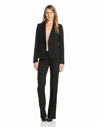 Theory Women's Gabe Habitat Button Blazer, Black, 00