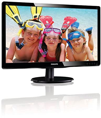 "Philips 200V4LAB Ecran PC 19.5"" Led 1600x900 16:9 5ms"