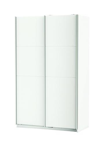 Armadio Fast con ante scorrevoli colore Bianco - L1216 x H2030 x P647 mm.