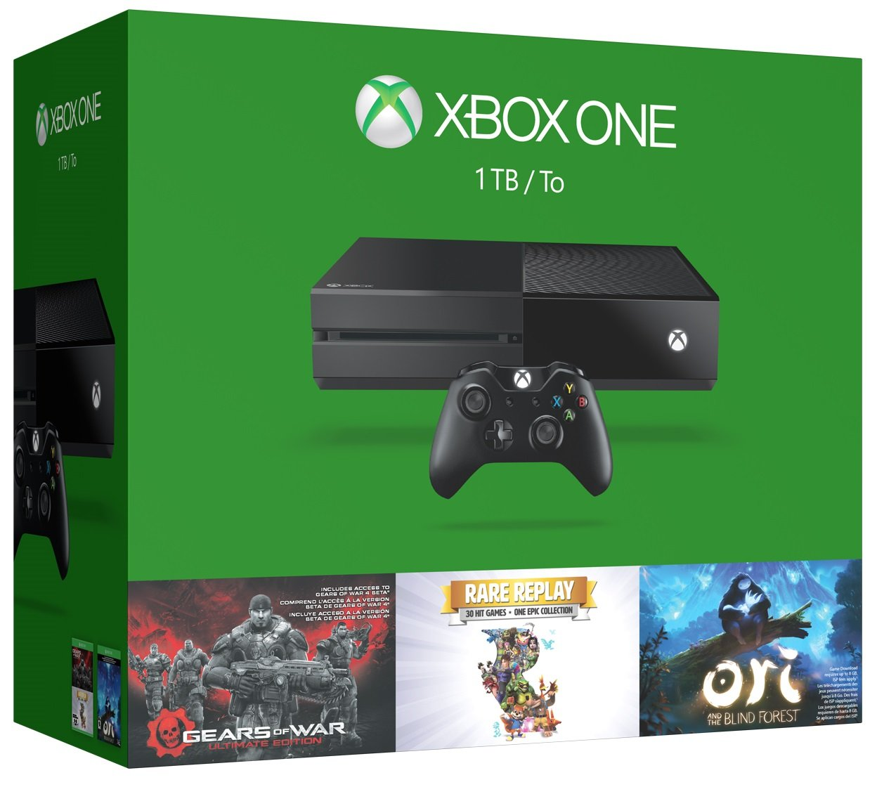 Xbox One 1TB Console - Holiday Bundle