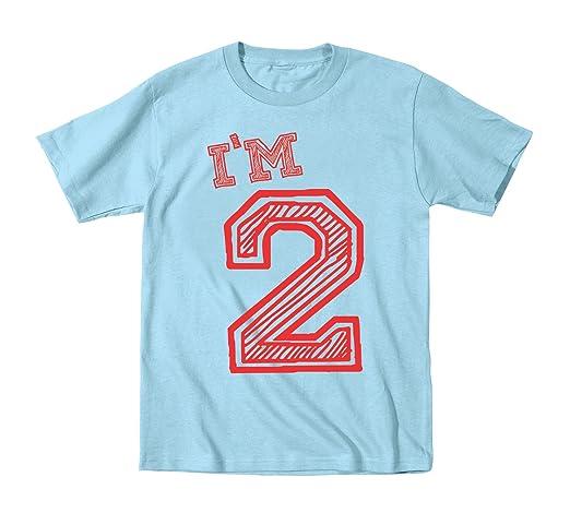 I'm 2 Years Old Cute Birthday Baby Shirt