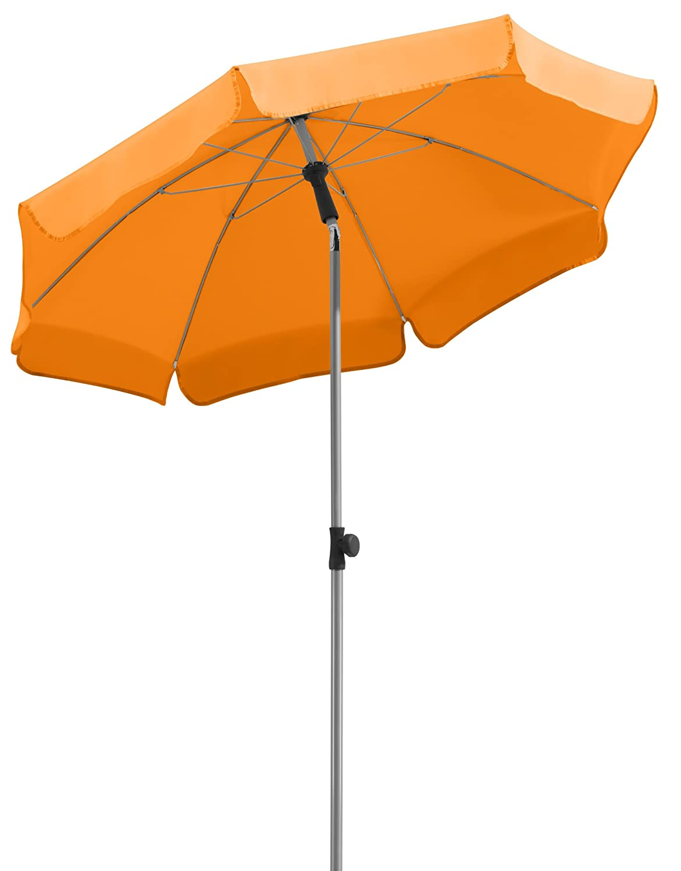 Schneider Sonnenschirm Locarno, mandarine, ca. 150 cm Ø, 8-teilig, rund online bestellen