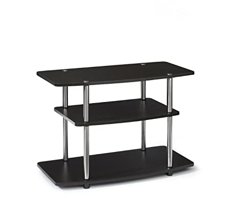Convenience Concepts 131020ES Designs-2-Go 3-Tier TV Stand for Flat Panel Television Up to 32-Inch or 80-Pound, Dark Espresso by Convenience Concepts