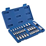 Neiko 10070A Torx Bit Socket and External Torx Socket Set | 35-Piece Set | S2 and Cr-V Steel (Tamaño: 1 Pack)