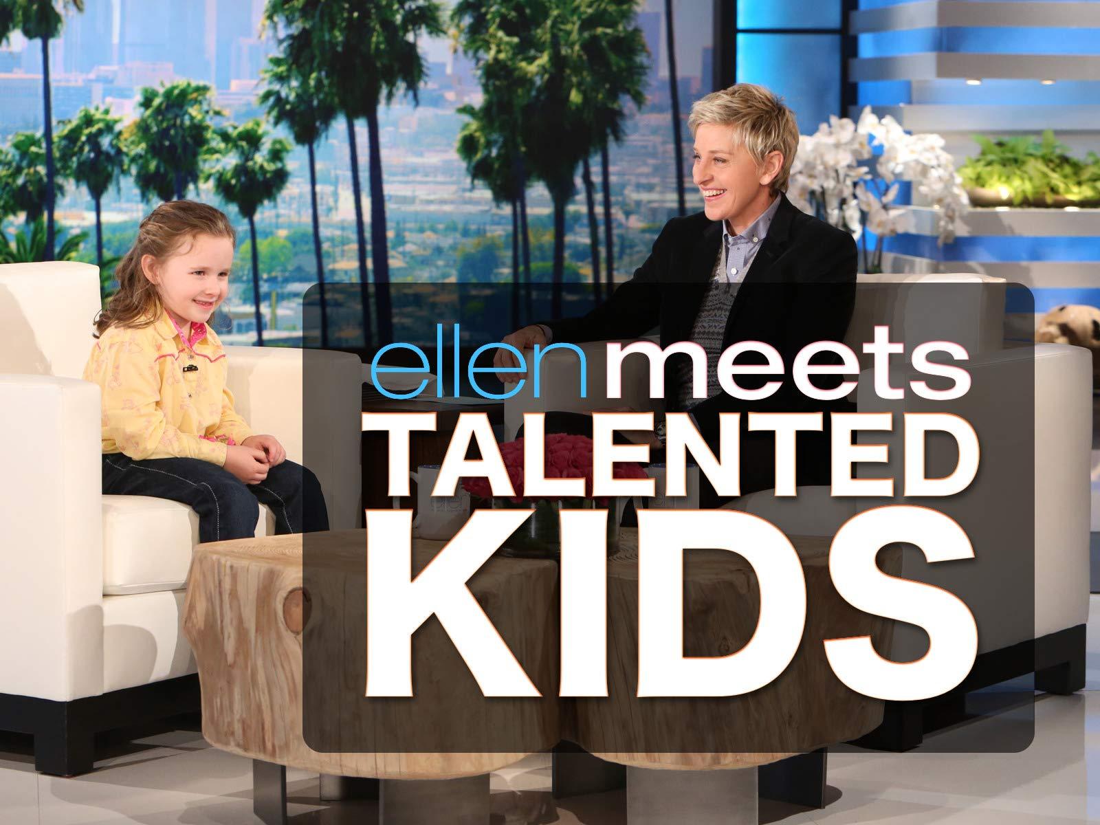 Clip: Ellen Meets Talented Kids