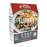 Fire & Flavor All Natural Turkey Perfect Herb Brine Kit, Perfect for Roasting, Grilling, Smoking, Frying, 16.6oz