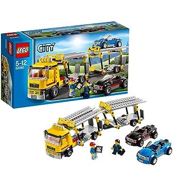Lego City - 60060 - Jeu De Construction - Le Camion De Transport Des Voitures