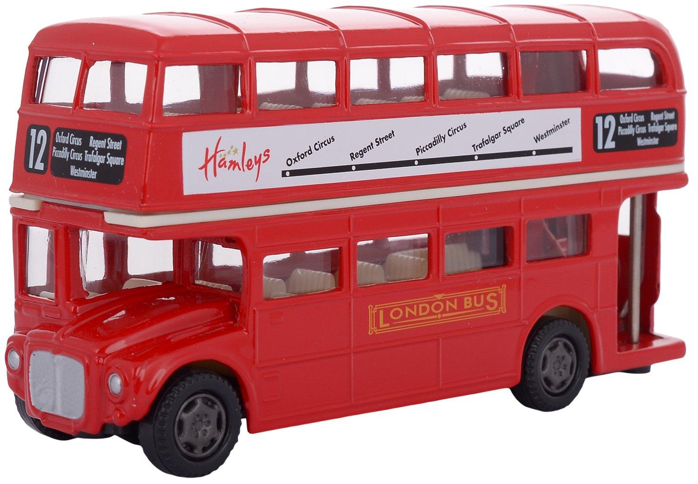 Hamleys London Double Decker Bus, Red
