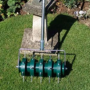 Rolling Lawn Aerator
