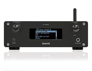 Vieta HA042BK VH-Radio Internet avec Amplificateur Numérique Noir