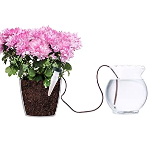 JUSHACHENGTA 8 Pack Automatic Plant Waterers, Plant Watering Devices, Automatic Slow Release Vacation Plant Waterer Slow Release for Outdoor & Indoor Use (Color: White, Tamaño: 4.1 inch)