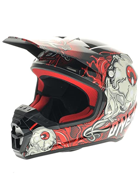 O'Neal - Casque cross - SERIES 5 MUTANT 2014 - Couleur : Black/Red - Taille : S