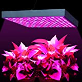 LED Grow Lights 45W, MAIICY Newest Red Blue Spectrum LED Plant Light Hang Lamp Super Bright UV IR 225 LEDs for Indoor Greenhouse Hydroponic Aquatic Plants Growing and Flowering