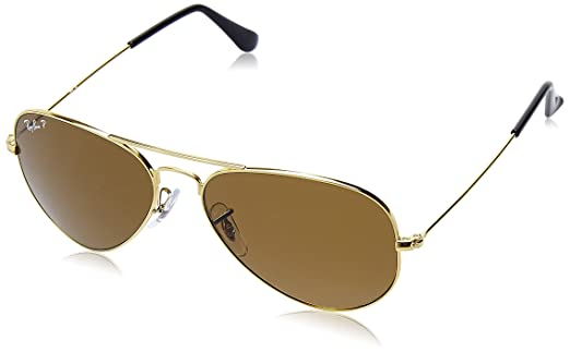 Ray-Ban Aviator Sunglasses (Brown)(0RB3025I001/5758)