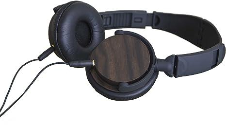 G&BL Ebony 60 Casque audio en bois d'ébène pliable 40  113 dB Noir