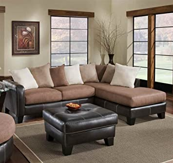 2-Pc Burke Sectional Set
