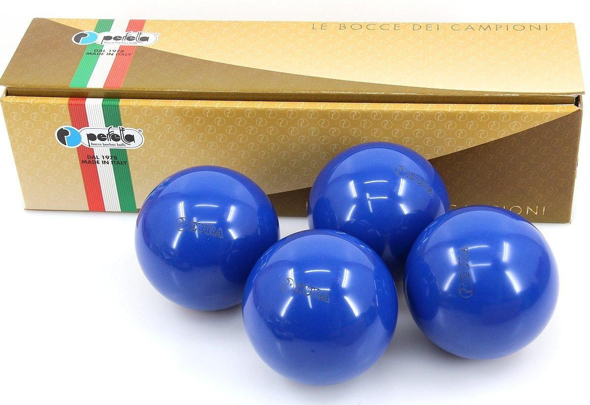 Perfetta EURA BLU Wettkampf Boccia Kugeln (4er Satz) in Blau günstig bestellen