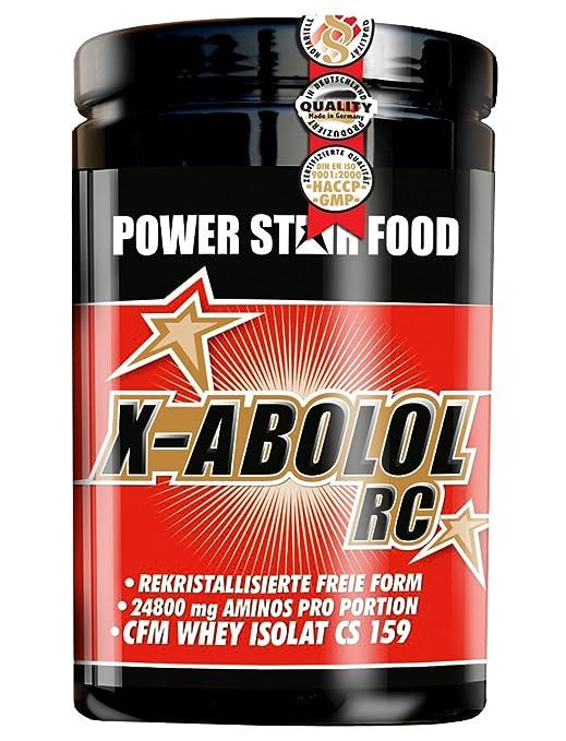 X-ABOLOL RC, Protein Aminosäuren Getränk, Dose 600g, Geschmack Pomeranze, sofort verfugbare Proteine zum Muskelaufbau