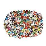 Cool Random Stickers 55-700pcs FNGEEN Laptop Stickers Bomb Waterproof Vinyl Sticker Luggage Decal for Laptop Stickers (500 PCS) (Tamaño: 500 PCS)
