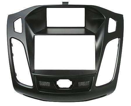 Phonocar 3/618 Cache autoradio 2 DIN pour Ford Focus Noir